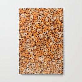 Multigrain hoops cereal Metal Print