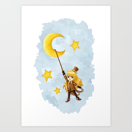 Magician Art Print