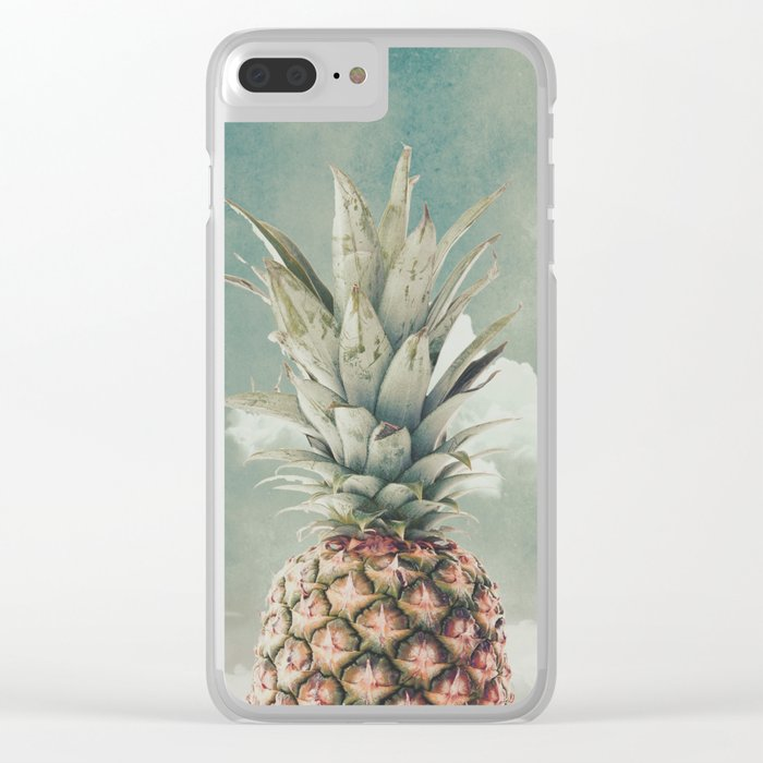 PINEAPPLE 8a Clear iPhone Case