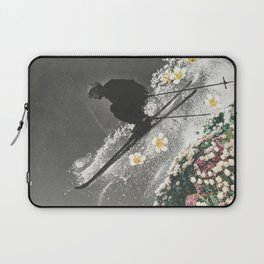 Spring Skiing Laptop Sleeve