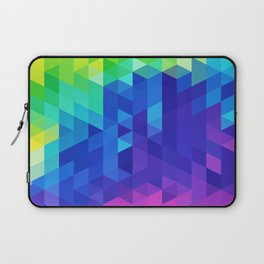 Abstract LGBT Pattern Laptop Sleeve