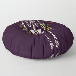 Dead is dead Floor Pillow