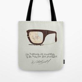 Salvador Allende Lente - TrincheraCreativ Tote Bag