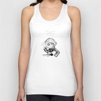 kurt rahn Tank Tops featuring Kurt Plush by Ludwig Van Bacon