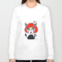 evil Long Sleeve T-shirts featuring Evil by Amy Lee