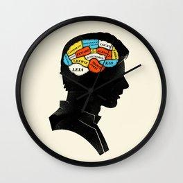 Han Phrenology Wall Clock