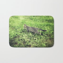 Cat on the Prowl Bath Mat
