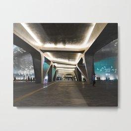 Dongdaemun Design Plaza (DDP), Seoul Metal Print