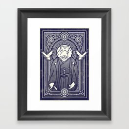 Visitor from the East Framed Art Print