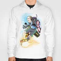 phil jones Hoodies featuring Phil Coulson by Page Branson