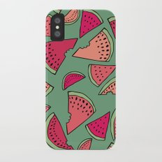 Watermelon Party iPhone X Slim Case