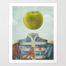 Sgt. Apple  Art Print