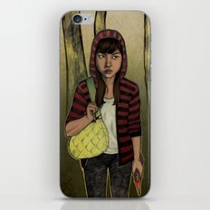 There Are Wolves in the World iPhone Skin