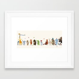 little big parade edition Framed Art Print
