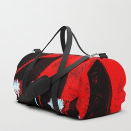 Surf in the City - Black + Red Duffle Bag