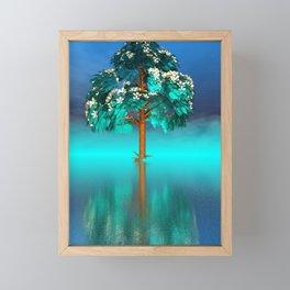 strange light somewhere -29- Framed Mini Art Print