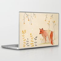 howl Laptop & iPad Skins featuring HOWL by MEERA LEE PATEL