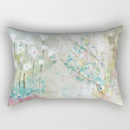 Secret Garden Art Rectangular Pillow