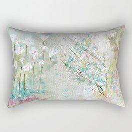 Secret Garden Art Rectangular Pillow