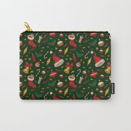hat merry christmast Carry-All Pouch