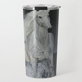 White Horse Freedom Travel Mug