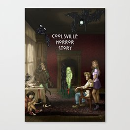 Coolsville Horror Story Canvas Print