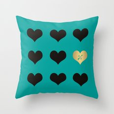 Pattern Ally A Throw Pillow