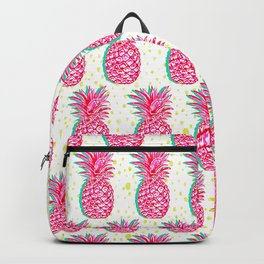 pink pineapples Backpack