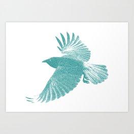 Corbeau  Art Print