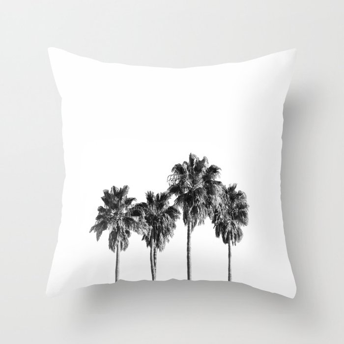 Palm trees 3 Throw Pillow