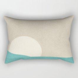Simple Sun Horizon Rectangular Pillow