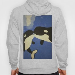 Mother and Child Whales Hoody