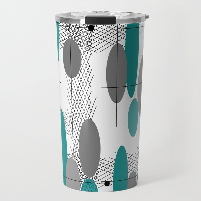 Orbs Always Float Travel Mug