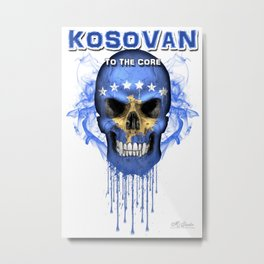 To The Core Collection: Kosovo Metal Print