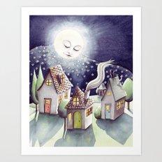 Mother Moon Art Print