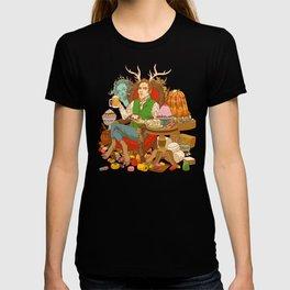 Gelatin God: Hydrocolloid Pantheon T-shirt