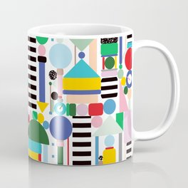 Memphis Milano Postmodern City Towers Coffee Mug