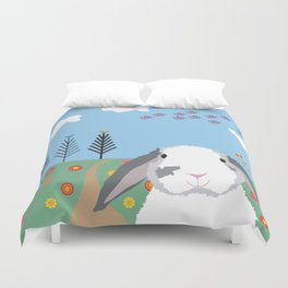Jokke, The Rabbit Duvet Cover