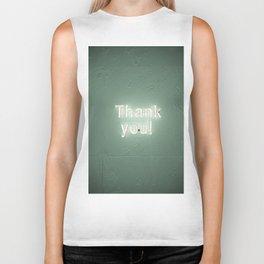 thank you ! Biker Tank
