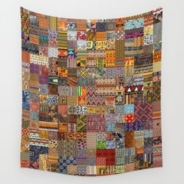 Ethnic Patterns Wall Tapestry