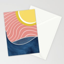 Sun, beach and sea Stationery Cards