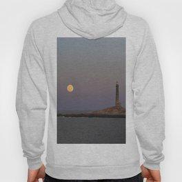 Moonrise Over Thacher Island Hoody