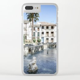 Priego de Cordoba Clear iPhone Case