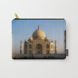 Taj Mahal Construction Carry-All Pouch