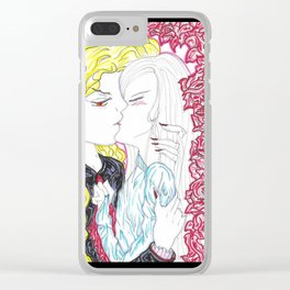 Song of the Night Kiss Clear iPhone Case