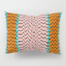 Abstract Waves II Pillow Sham