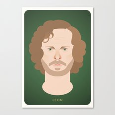 Sir Leon Canvas Print