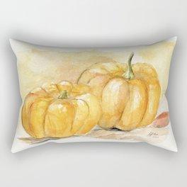 Mini Pumpkins II Rectangular Pillow