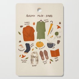 Autumn must-haves Cutting Board