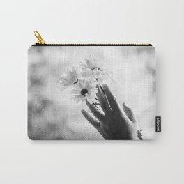 Daisy (B&W) Carry-All Pouch